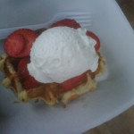 Bruges Waffles and Frites: My wife's favorite way to start a Saturday