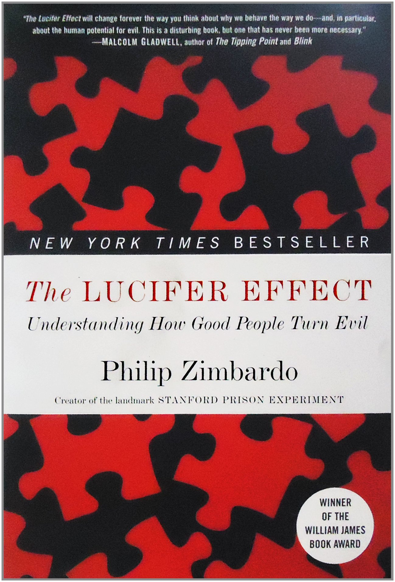 why good people do bad things in the lucifer effect a book by philip zimbardo The lucifer effect: understanding how good people turn evil by philip zimbardo rider books £1899, pp576 on 28 april 2004, the american news programme 60 it is to answer the question of 'how good people turn evil' that zimbardo has written the lucifer effect, a formidable piece of.